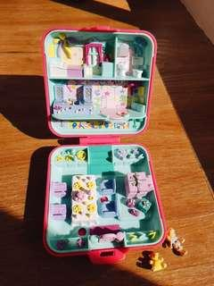 1989 Vintage Polly Pocket Partytime Surprise