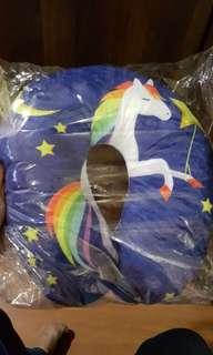 Unicorn neck pillow