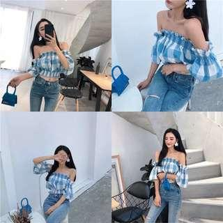 🆕 READY STOCK OFF SHOULDER TOP #DEC50