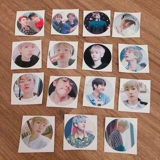 EXO Round Stickers
