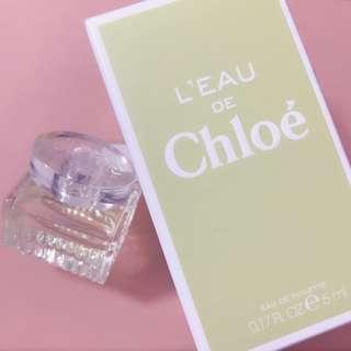 Chloe perfume sample 香水版仔