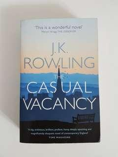 J.K.ROWLING - THE CASUAL VACANCY