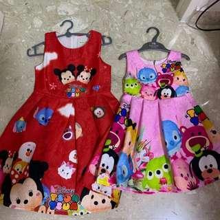 Tsum Tsum dresses