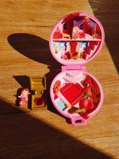 1992 Vintage Polly Pocket Jewelled Palace