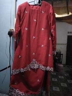 kurung moden saree
