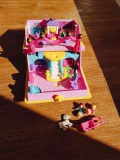 💗1995 Vintage Polly Pocket Princess Palace