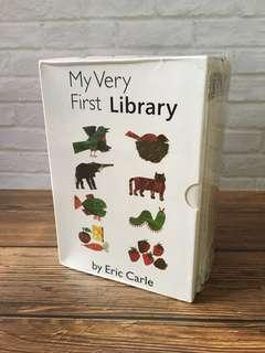 Age 0+ Eric Carle My Very First Books of - 8 board books