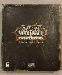 USED World of Warcraft Cataclysm Collector's Edition