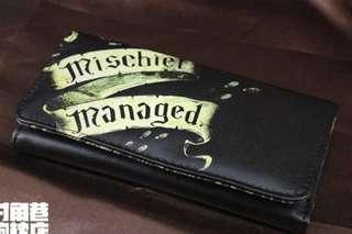 Harry Potter Mischief Managed Long Wallet