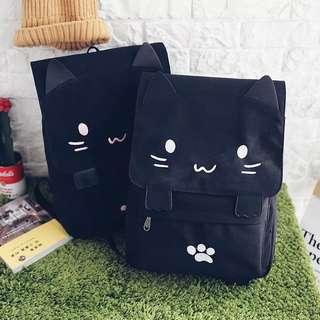 Kitty Emoticon Backpack