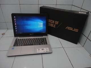 Laptop Asus A455L i3 Kondisi Normal