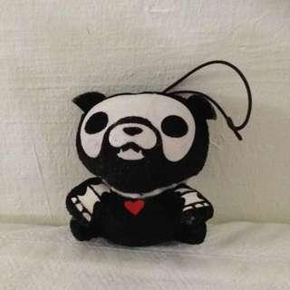 Dog Skeleton Limited Edition Soft Toy Keychain