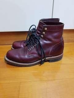 chippewa 4353bur horween boots red wing danner