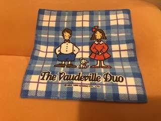 Sanrio The Vaudeville Duo日本製  狗男女 小毛巾(1996)