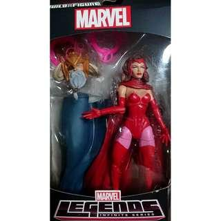 Marvel Legends Infinite Series MISB Scarlet Witch Select Universe (NEAREST MRT)