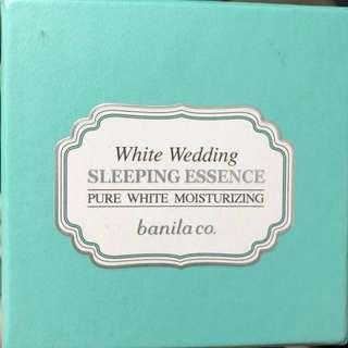 White wedding sleeping essence(banila co.)