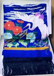 dolce & gabbana alta sartoria silk scarf