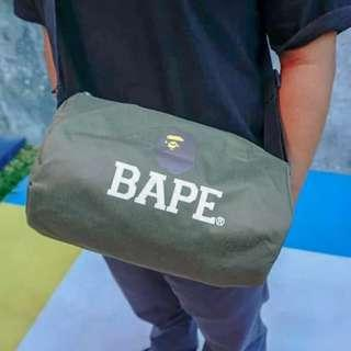 BAPE DUFFLE BAG GREEN