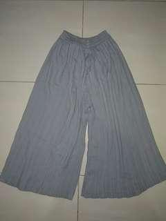 Celana kulot grey