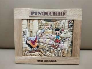 東京迪士尼小木偶Pinocchio布畫擺設架