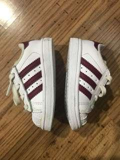 PRE-LOVED AUTHENTIC ADIDAS SUPERSTAR 1 US4K