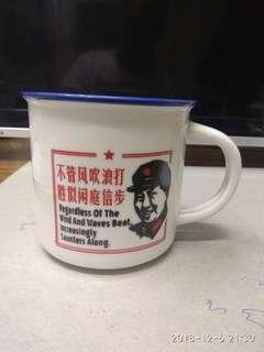 毛主席像茶杯75元一個