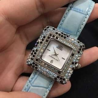 Jennifer Lopez Blue Diamond Watch