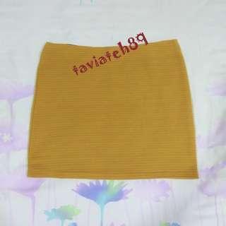 🆕Nichii Mustard Yellow Bodycon Skirt#MFEB20