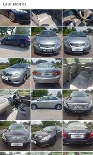 Car for Private hire , Weekly from $320 onwards.