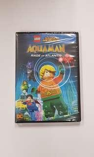 LEGO MOVIE AQUAMAN RAGE OF ATLANTIS DVD NEW SEALED LEGO SUPER HEROES
