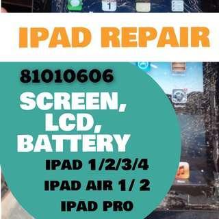 ipad repair, ipad lcd repair, ipad battery, iphone repair