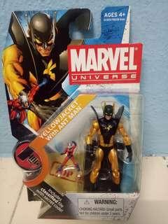 Marvel Universe yellow jacket