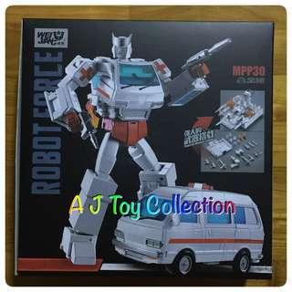 [ In Stock ] Transformers Weijiang MPP-30 Steel Guard aka MP-30 Ratchet