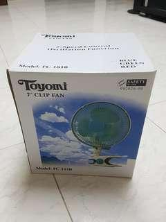 """Toyomi 7"""" clip fan"""