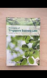 🚚 Smu business law textbook + notes