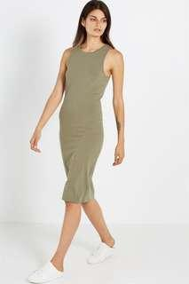 Olive Kellie bodycon midi dress