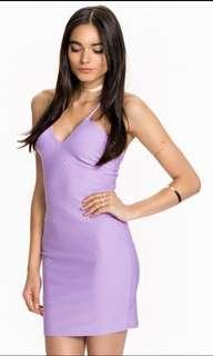 Miss selfridge lilac purple dress
