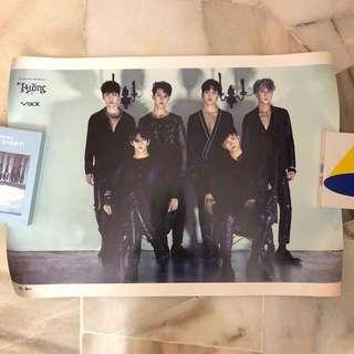 VIXX 6th Album : Hades - Official Posters