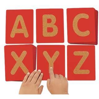 Lakeshore Tactile Letters - Uppercase