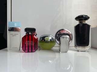 All Authentic, BVLGARI, DKNY, Dolce & Gabbana, Victoria's Secret