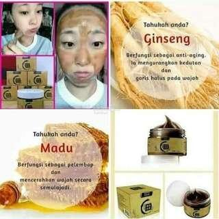 Ginseng Honey Peel-off Face Mask