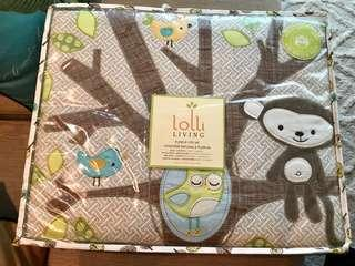 Lolli Living™ by Living Textiles Baby Animal Tree 4-Piece Crib Bedding Set