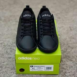 ADIDAS NEO ALL BLACK