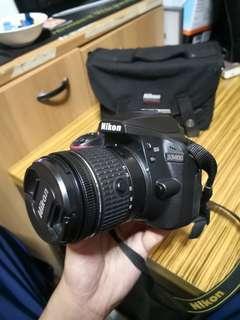 Nikon D3400 + 18-55mm lens