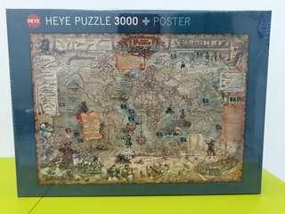 Puzzle HEYE - Pirate World 3000 pcs