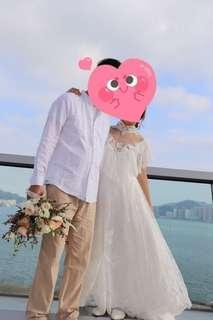 復古輕婚紗