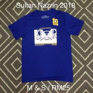 Sultan nazrin run 2018 running shirt