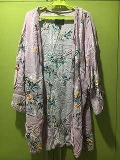 Cotton On Printed Kimono Cover Up