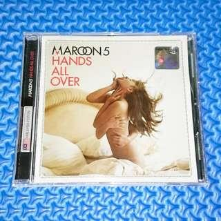 🆒 Maroon 5 - Hands All Over (Malaysia Edition) [2010] Audio CD