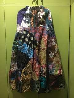 Chic Batik Long Skirt